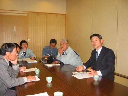 三和訪問(2003/4/21)