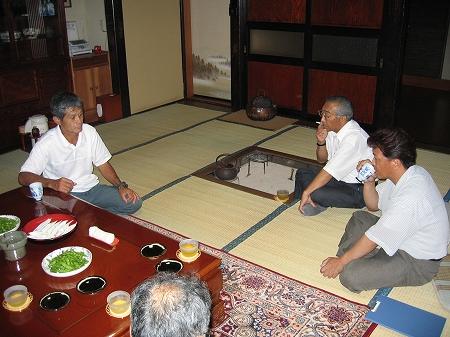 鮭川訪問(2004.07.21)