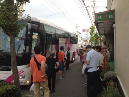三和稲刈り体験ツアー2012